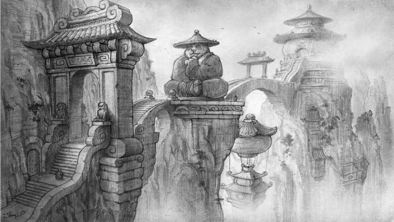 Kuidas tuua sulle aasia kultuur koju kätte  — pandad, taoism, budism, konfutsionism e. Blizzard tunneb stereotüüpe.