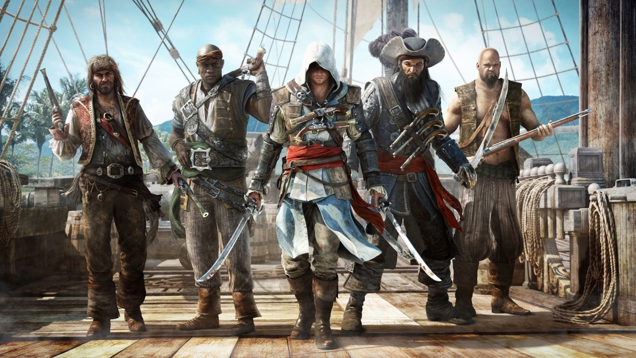 4   ASSASSINS CREED 4