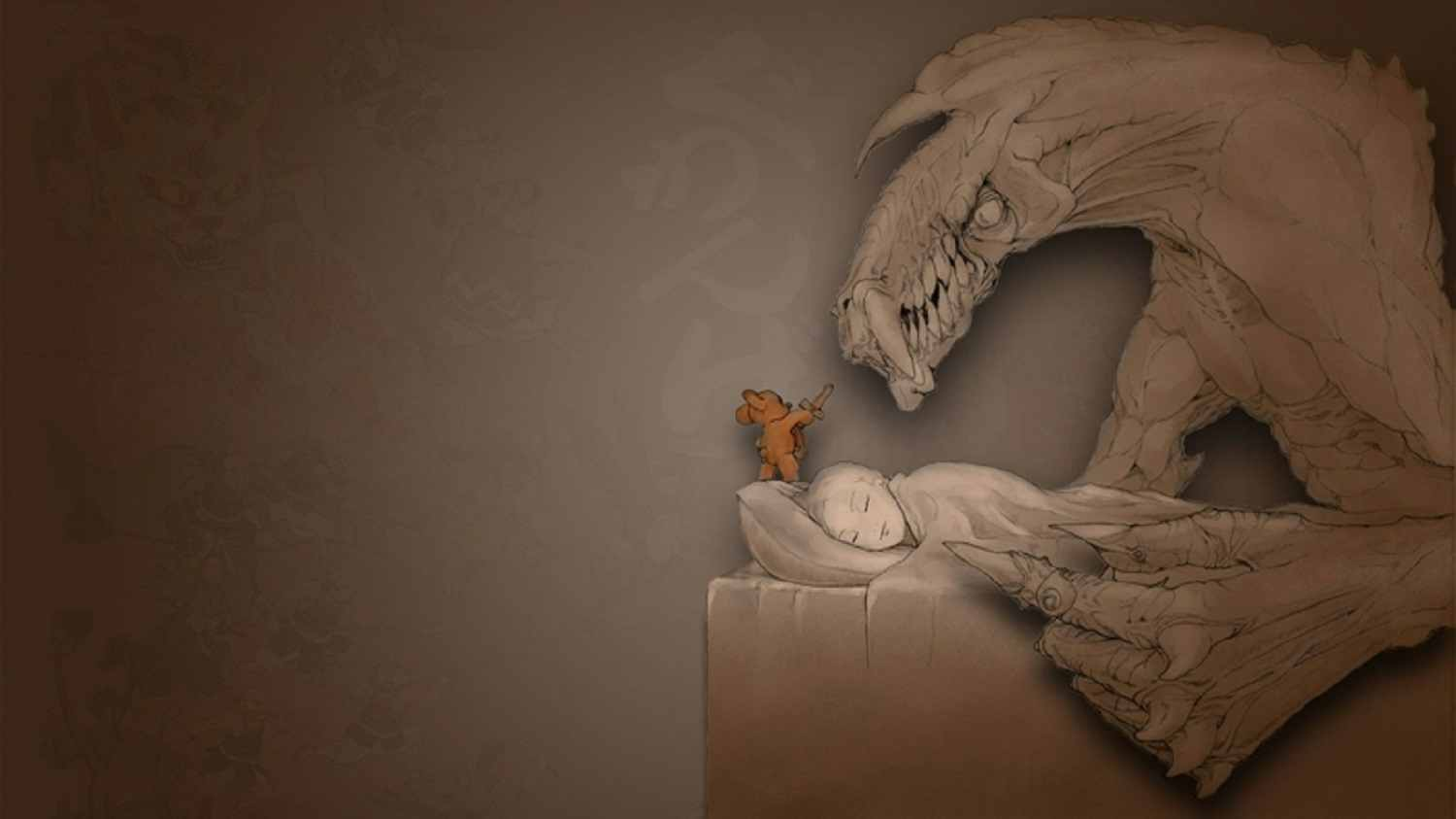 monsters sleeping artwork teddy bears 1920x1080 wallpaper_www.wallmay.com_3