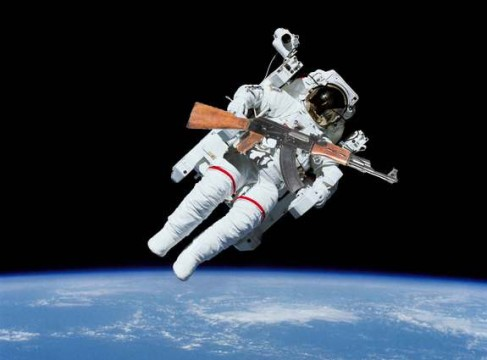 shoot in space