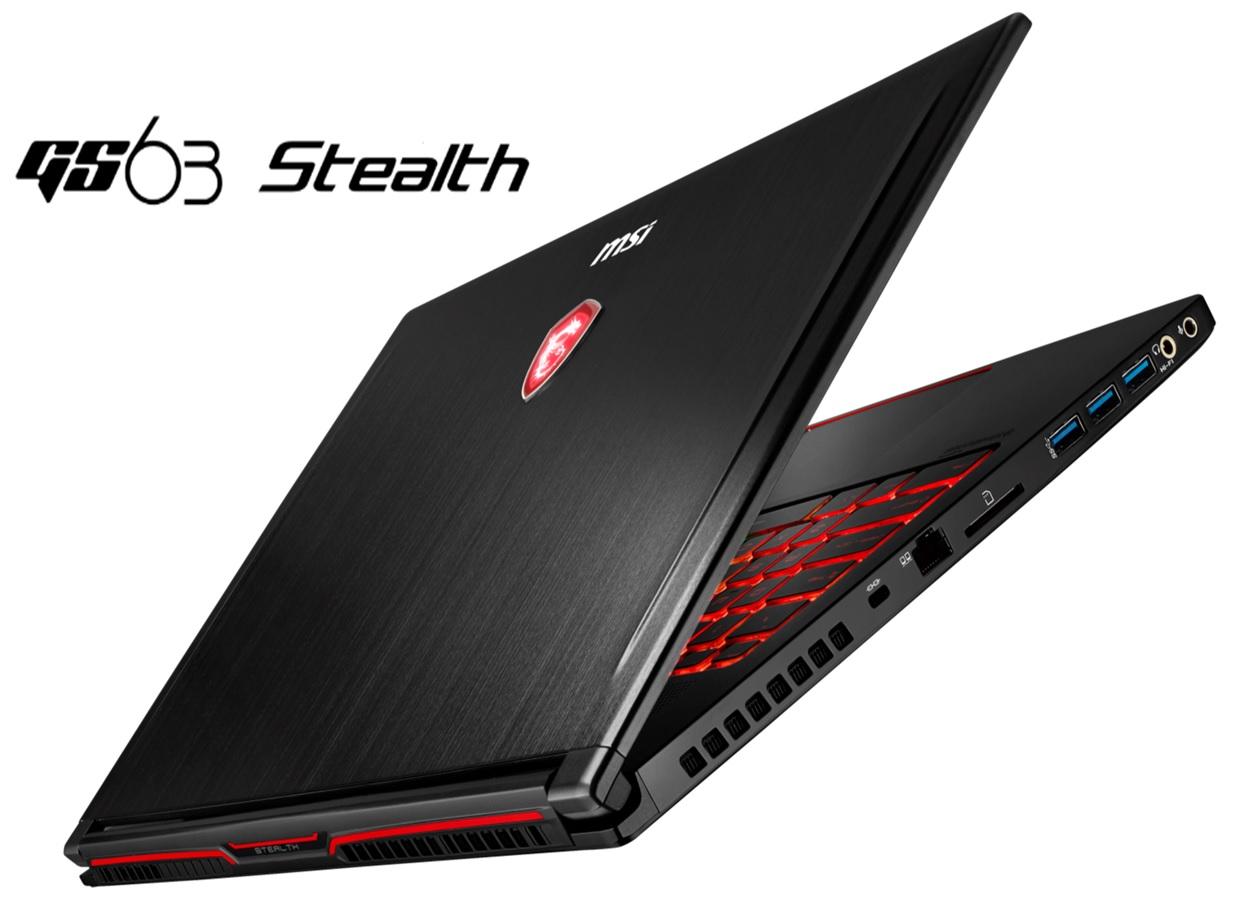 a0e3bf102d1 MSI GS-seeria peamiseks erinevuseks on asjaolu, et antud sülearvutid on  märgatavalt õhukesed ning kerged. GS63 Stealth jätkab seda traditsiooni, ...